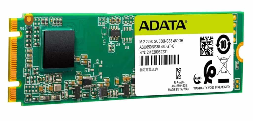SSD Adata Ultimate SU650 03
