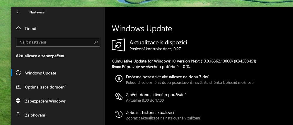 Windows 10 Insider Preview Build 18362 10000 1