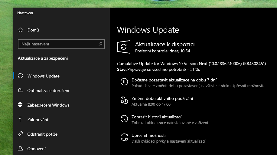 Windows 10 Insider Preview Build 18362 10006 1