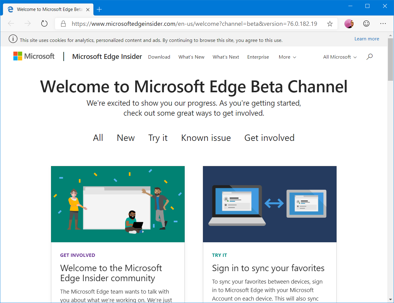edge beta stable unik 2