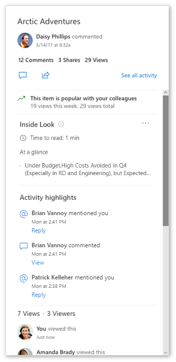 onedrive business detaily dokumentu official msft