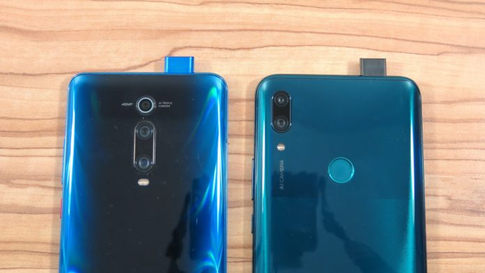 Huawei P Smart Z vs Xiaomi Mi 9T 2
