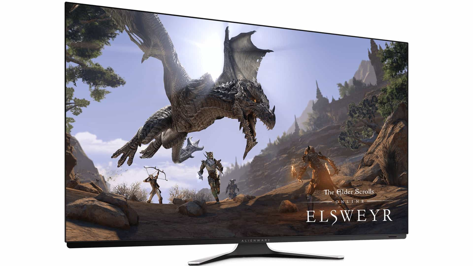 Herní OLED monitor Alienware AW5520QF