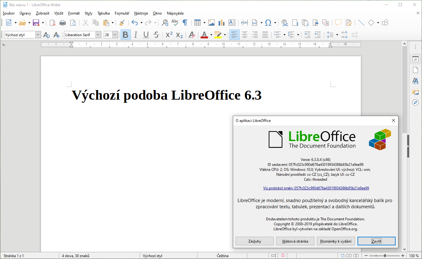 libreoffice 6 3 1