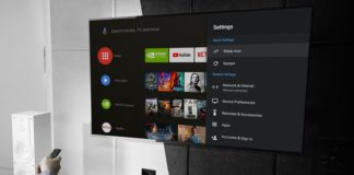 Nvidia Shield TV s Androidem 9