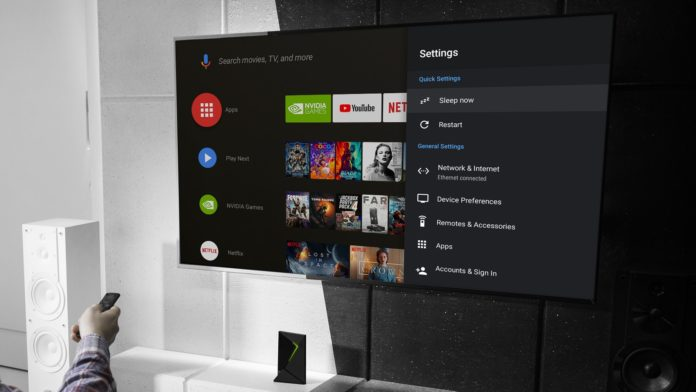 nvidia shield tv 9 1600