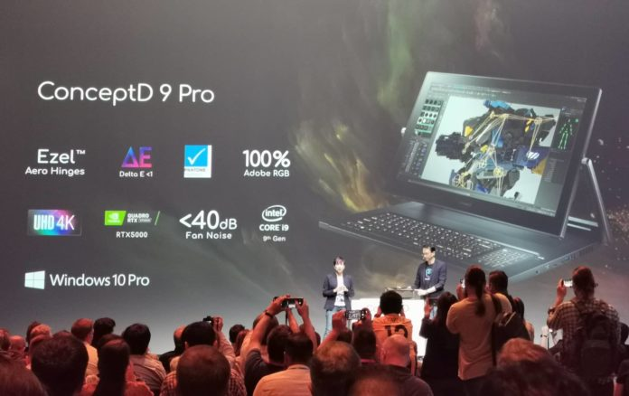 Acer IFA foto12 ConceptD 9 Pro