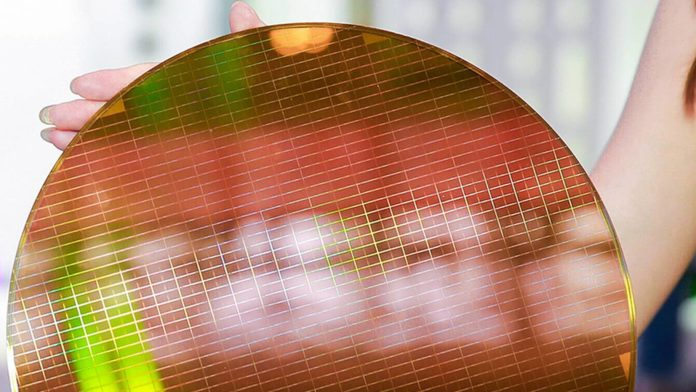 Wafer s 3D NAND Flash YMTC 1600
