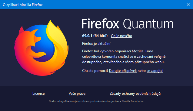 firefox 69 about