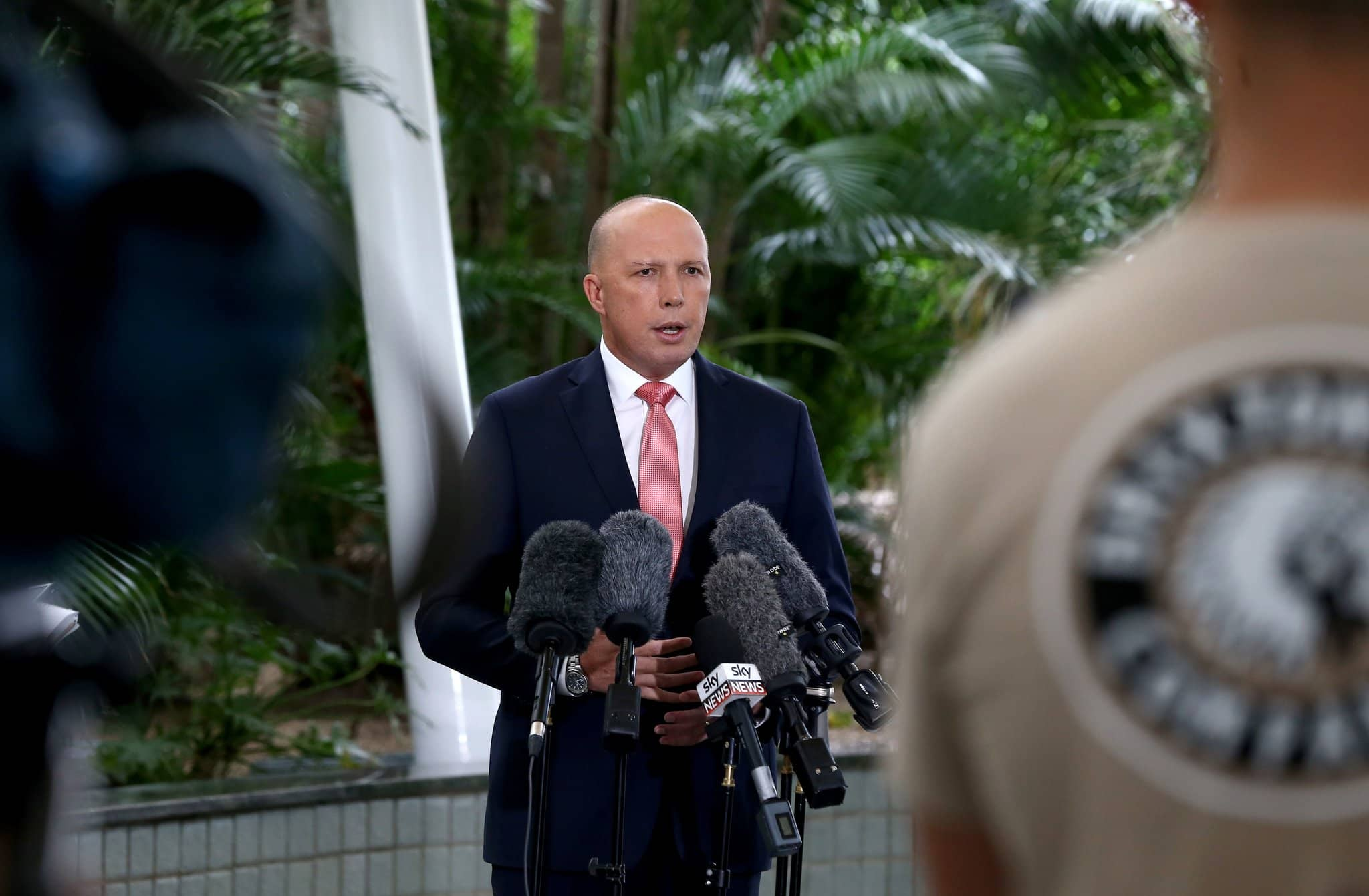 Australias home affairs minister Peter Dutton Shutterstock