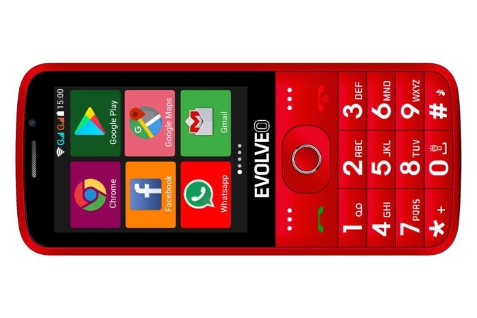 EVOLVEO EasyPhone AD front r 1