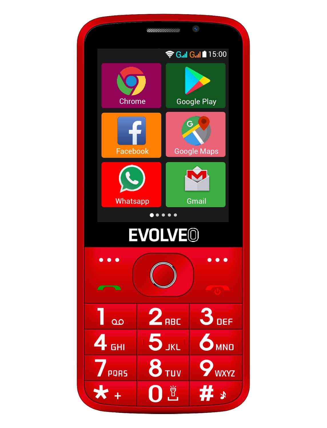 EVOLVEO EasyPhone AD front r