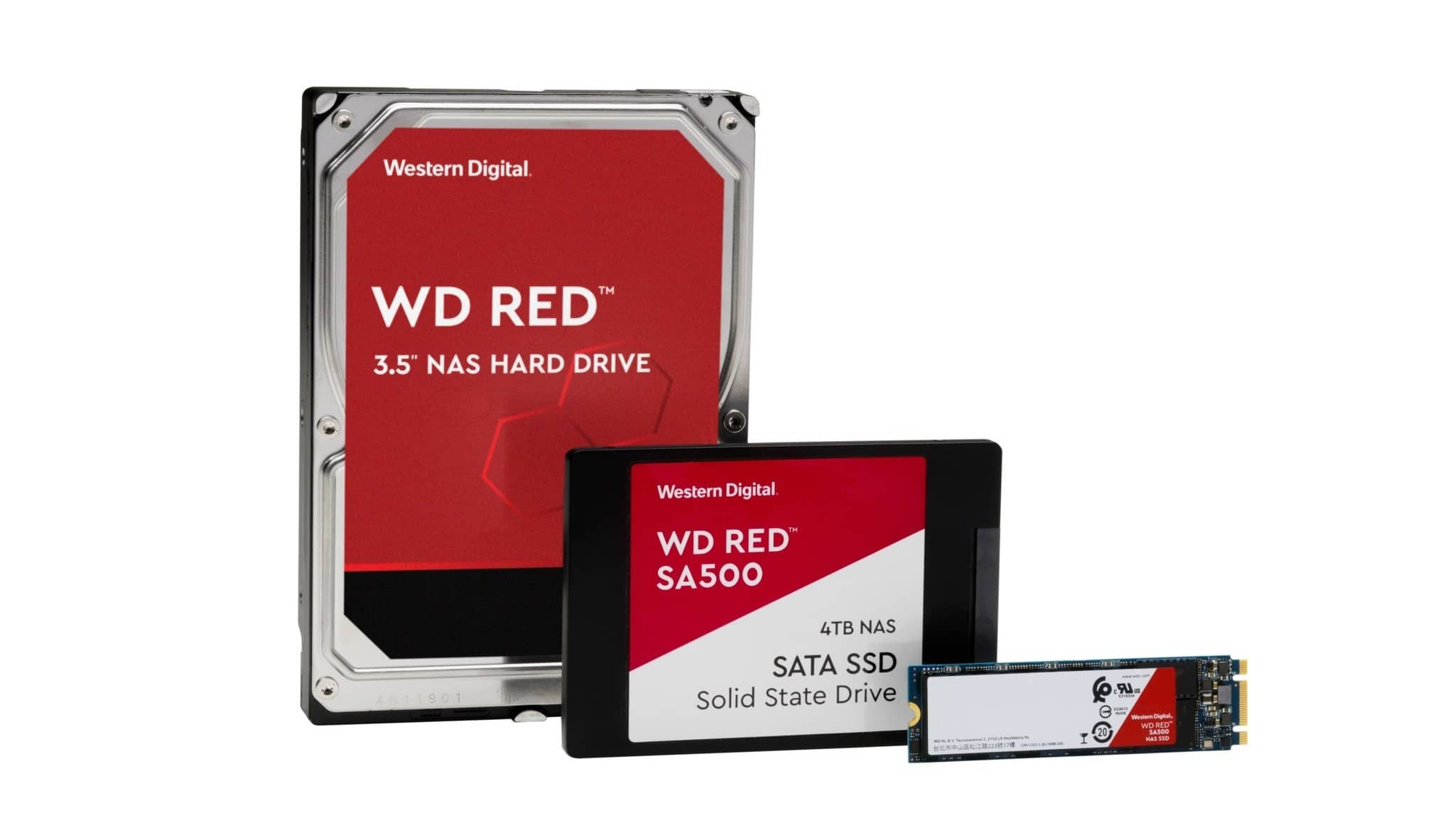 NEW WD RED SSD HDD