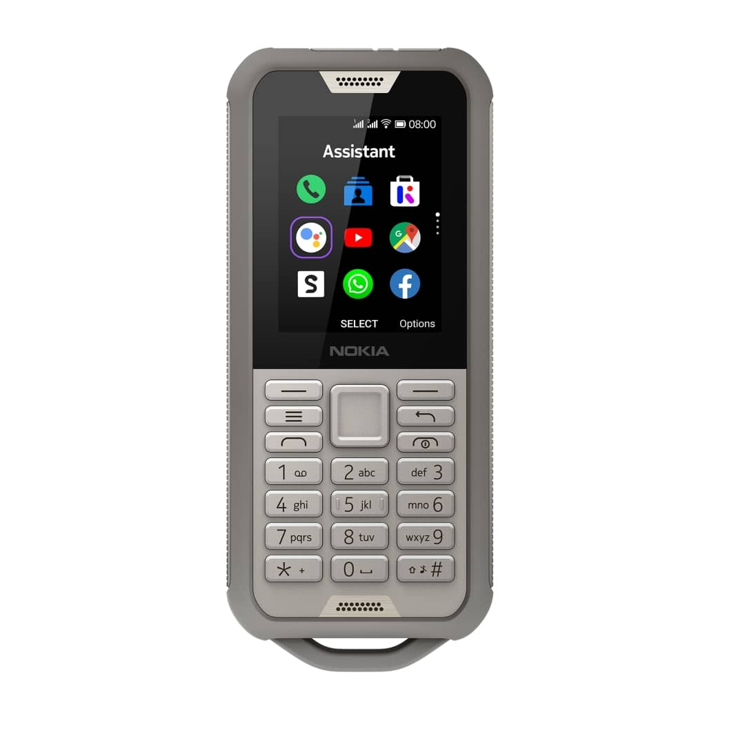Nokia 800 Tough SAND DS front