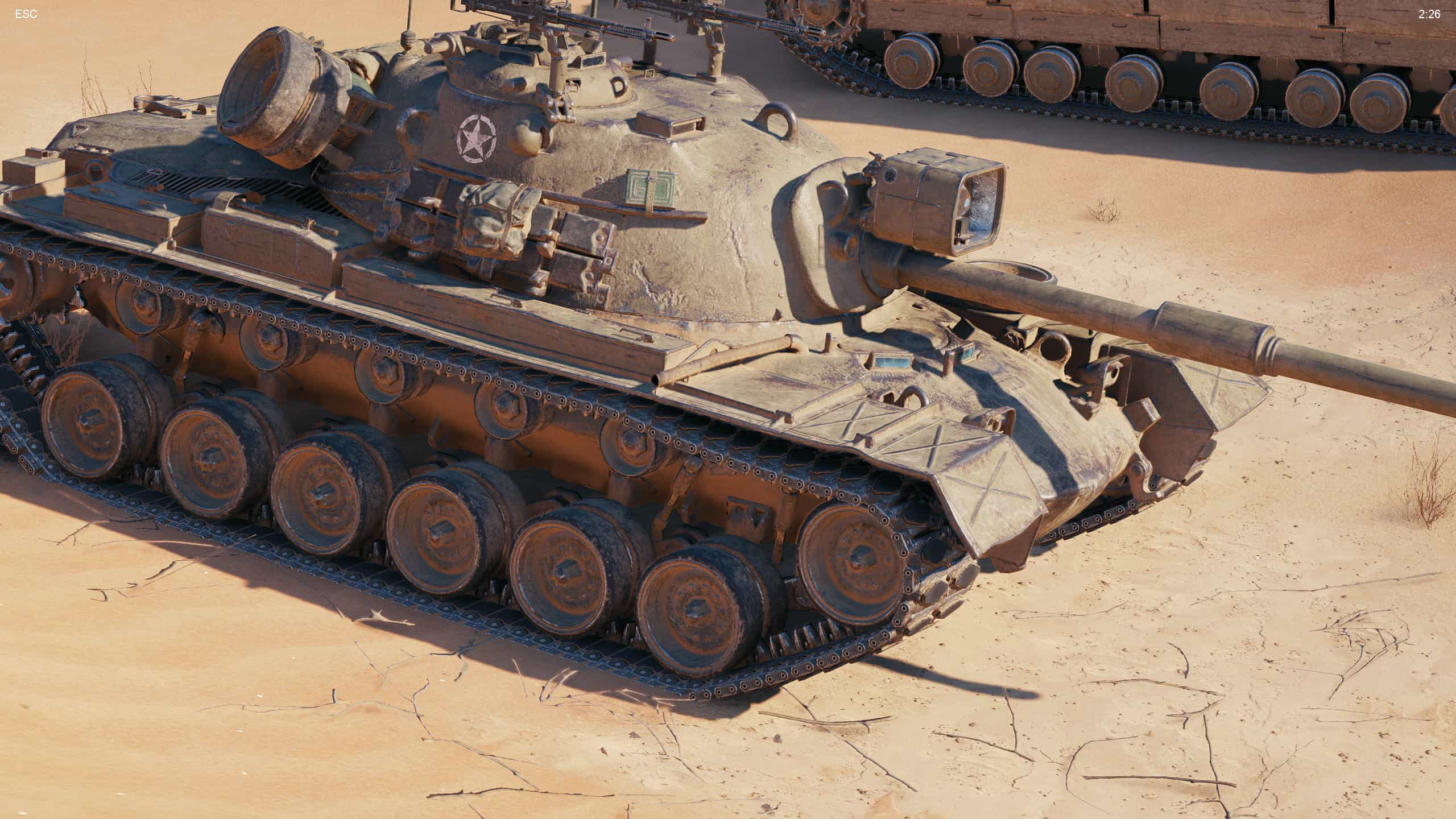 World of Tanks demo enCore RT ray tracing zapnuty 04