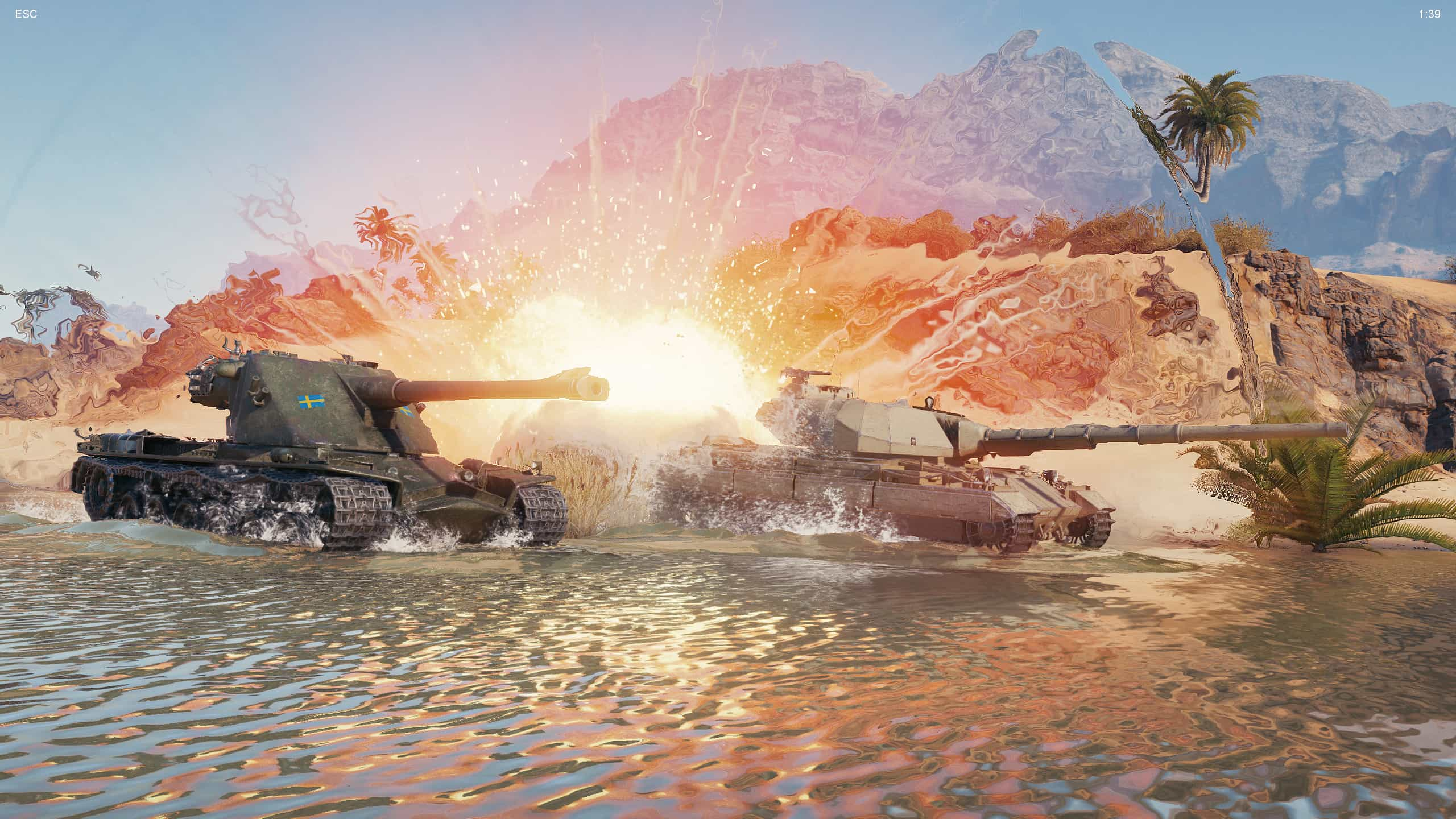 World of Tanks demo enCore RT ray tracing zapnuty 11