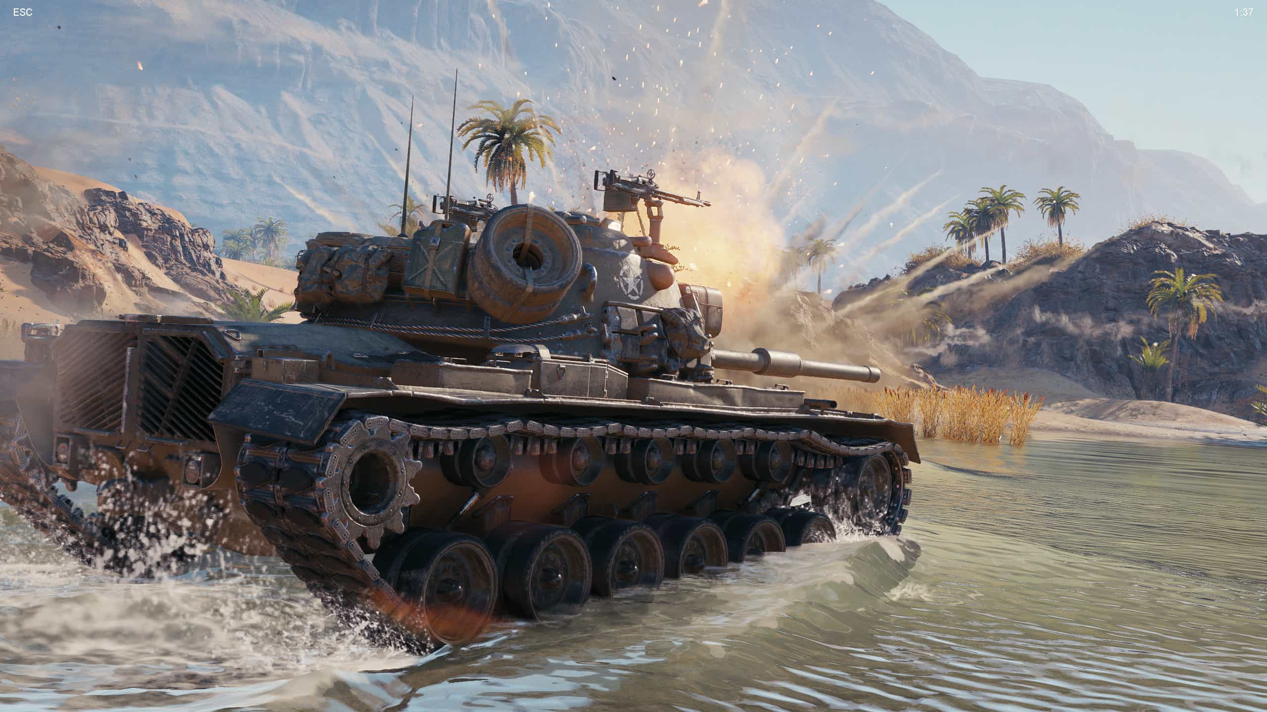 World of Tanks demo enCore RT ray tracing zapnuty 12
