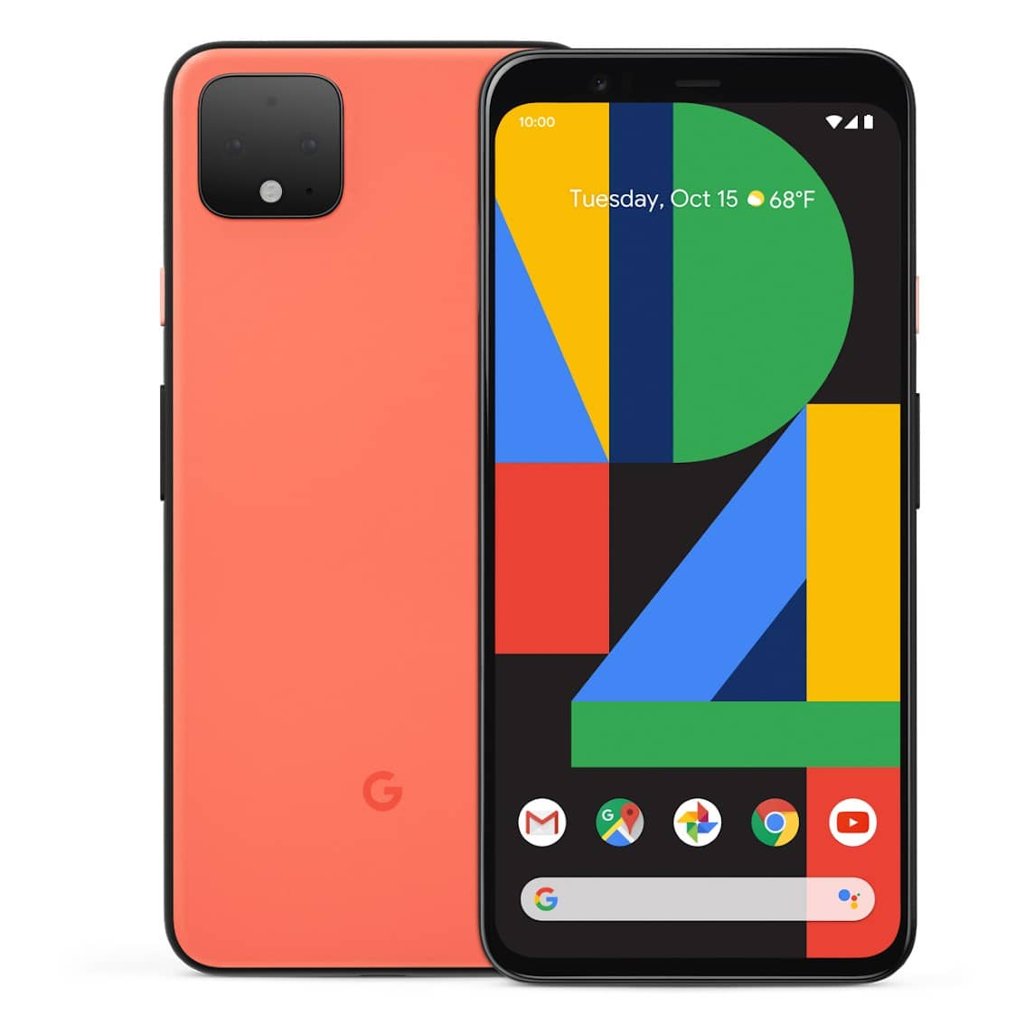 google pixel 4 orange