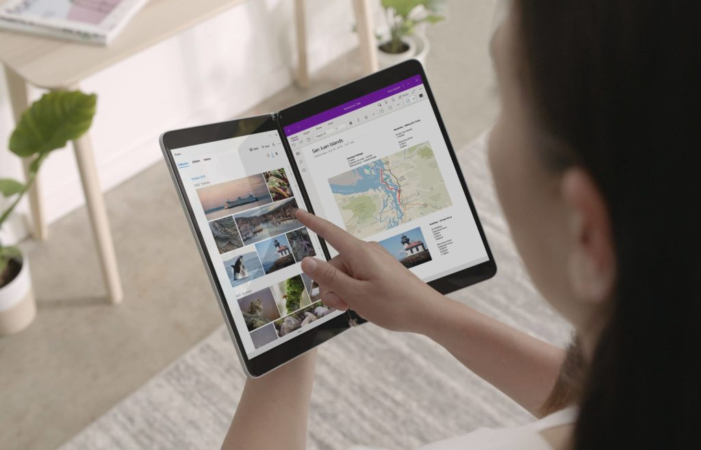 microsoft surface neo press official 2