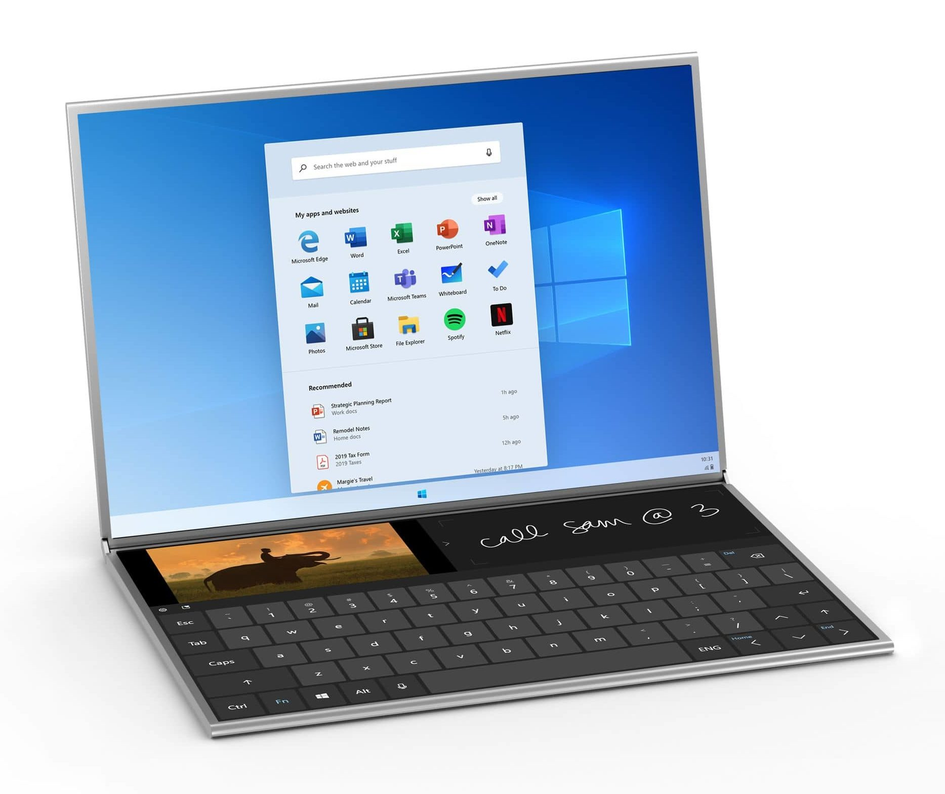 microsoft surface neo press official 4