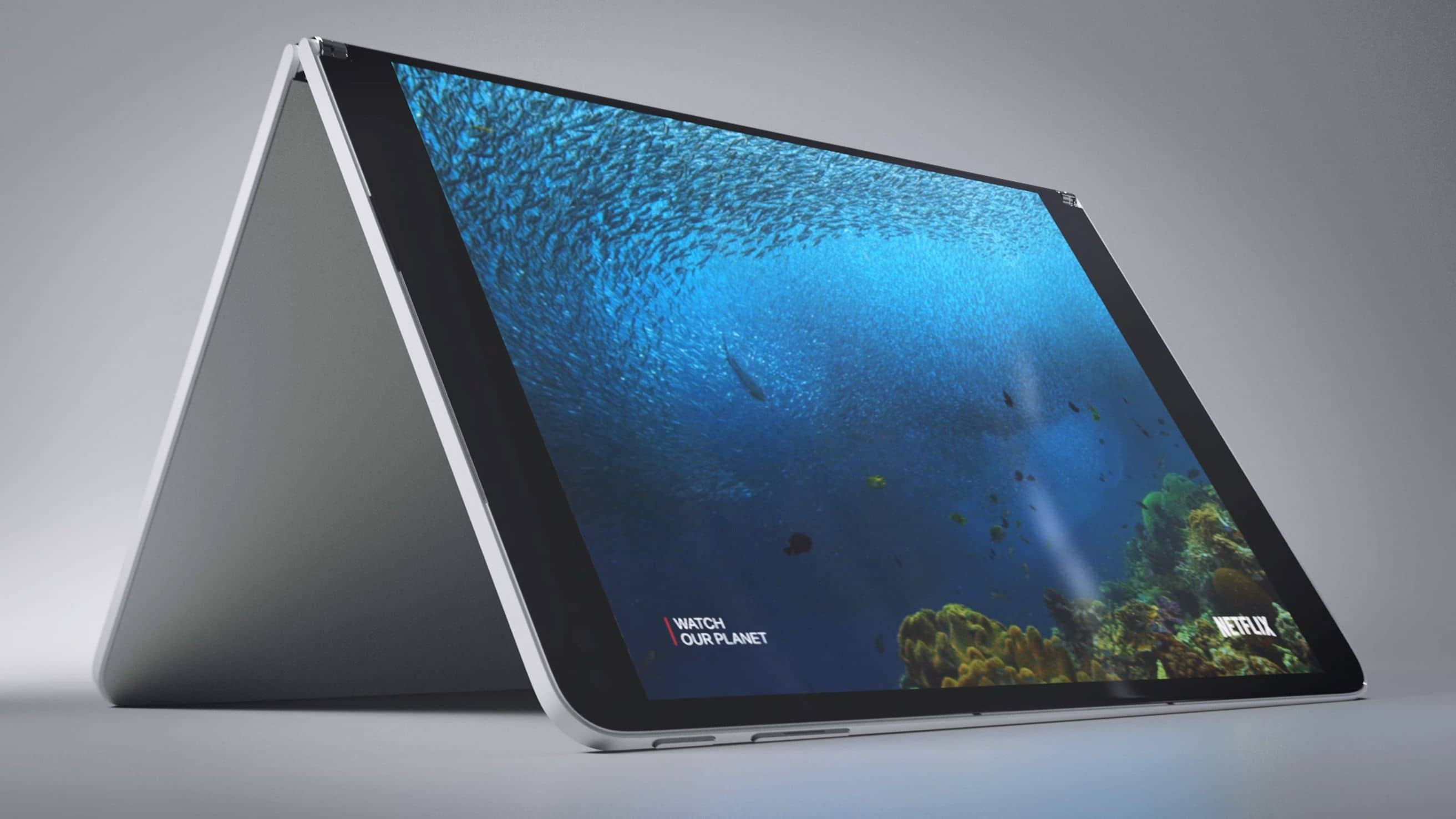 microsoft surface neo press official 9