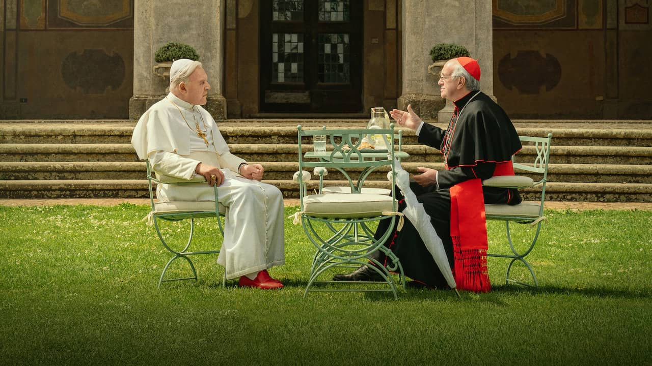 netflix the two popes