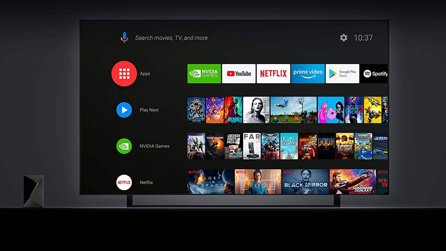 Android TV 9 s Shield Experience 8.0