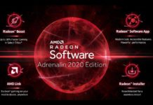 AMD Radeon Software Adrenalin 2020 Driver ovladac 1600