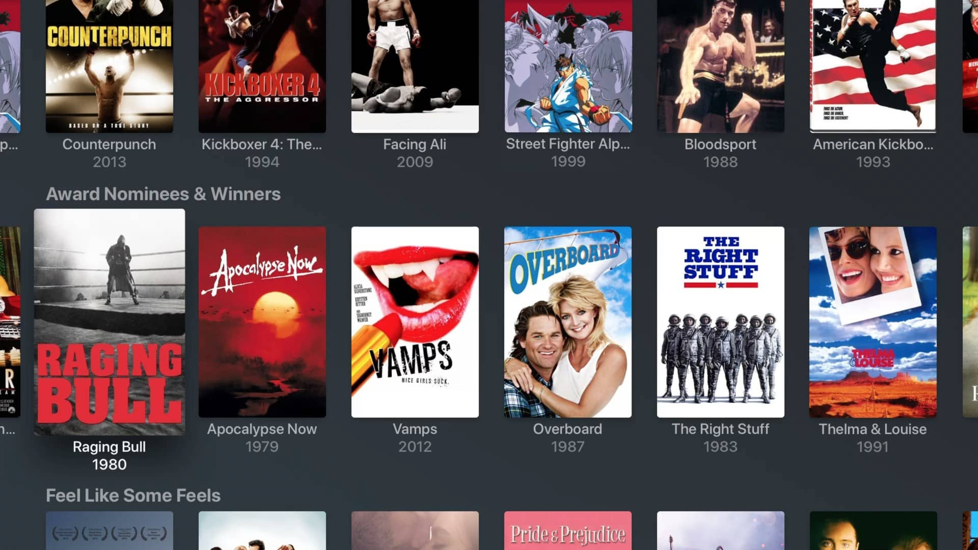 plex movies and tv award winning