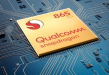 qualcomm snapdragon 865 1600