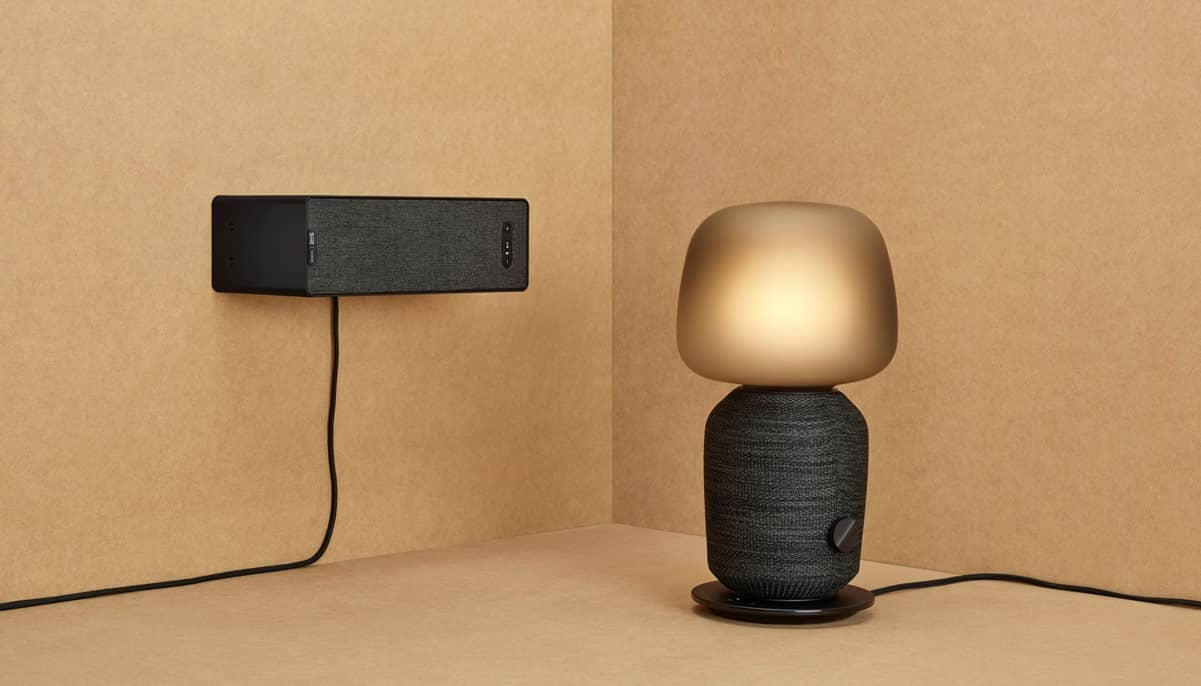 symfonisk speakers table lamp bookshelf black l