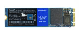WD Blue SN500 500GB front