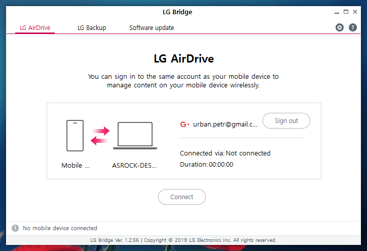 lg airdrive 2
