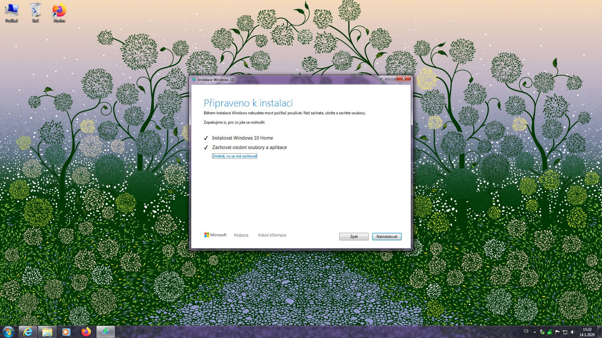 windows 7 bezplatny upgrade windows 10 9