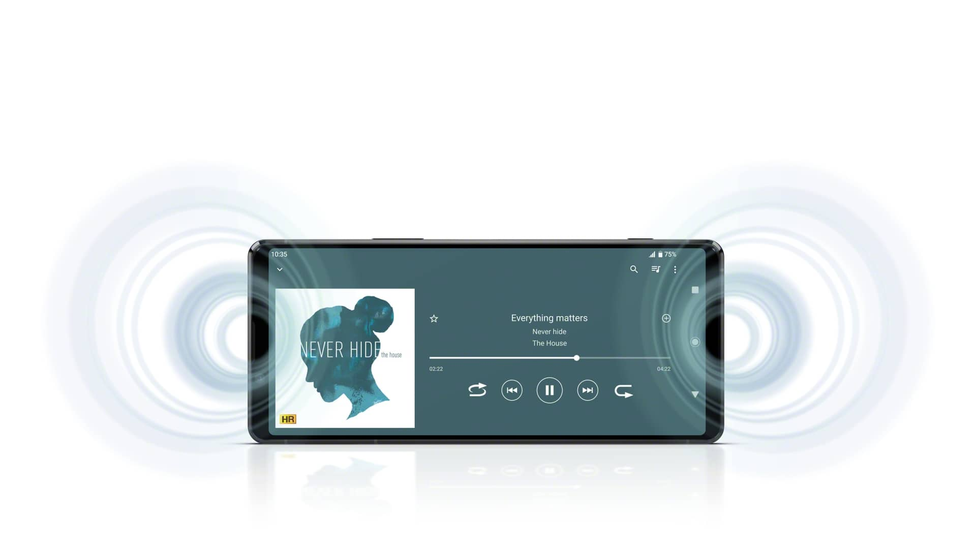 Xperia 1 II Front Stereo Speakers