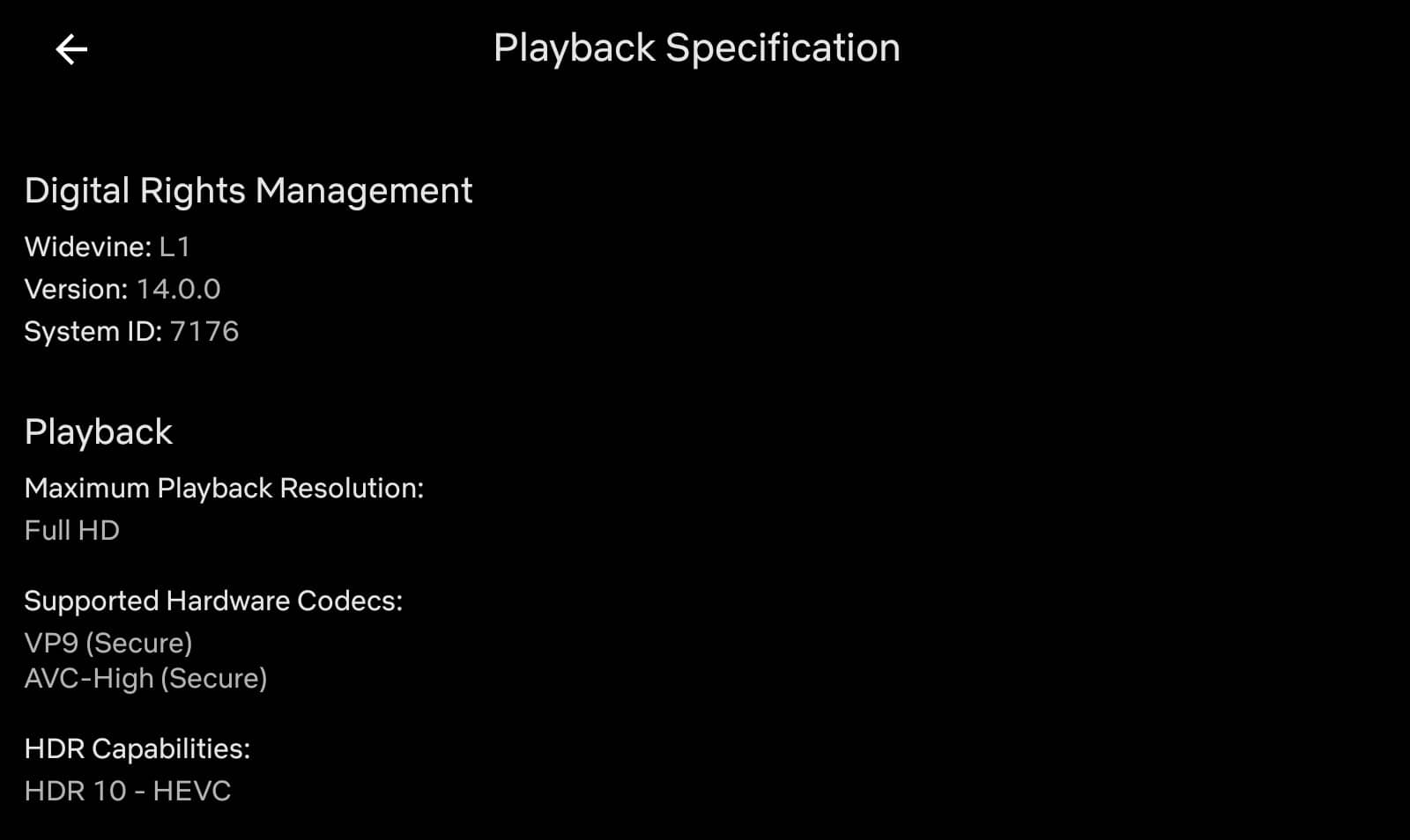 netflix android playback