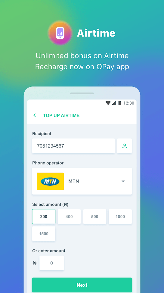 opay android app 2