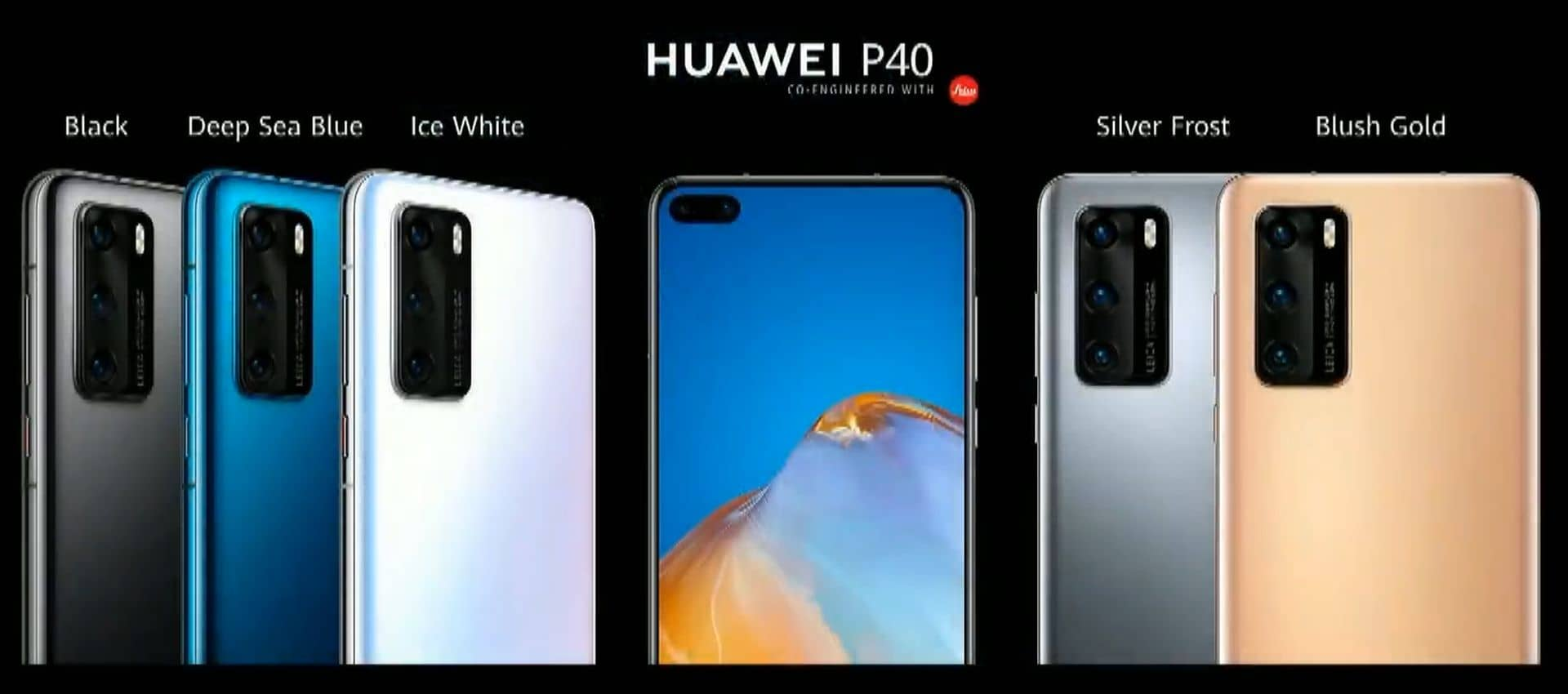 Huawei P40 series launch obr3