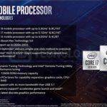 Intel 10th Gen Core Comet Lake H Features