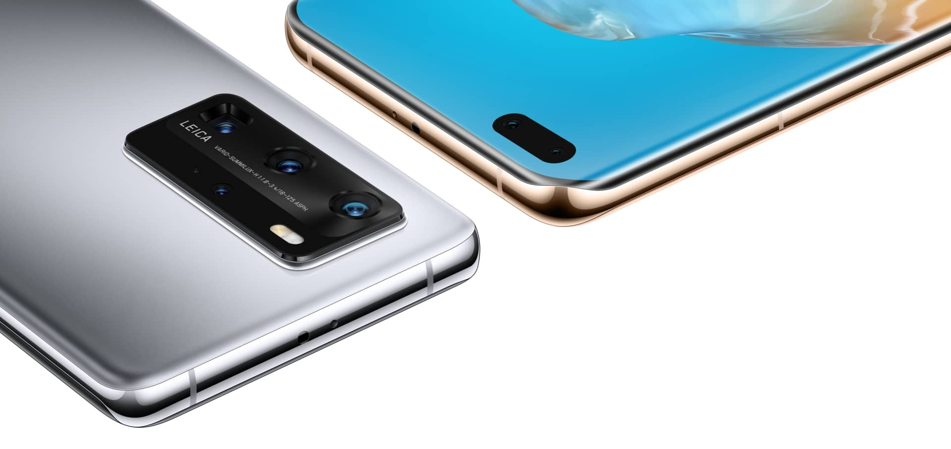 P40 Pro Appearance of the combination