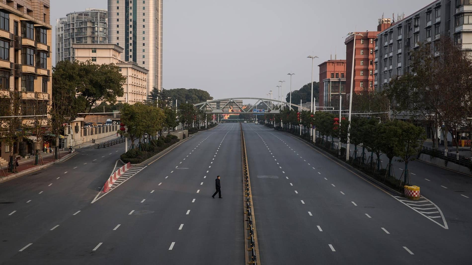 Wuhan empty city Getty Images