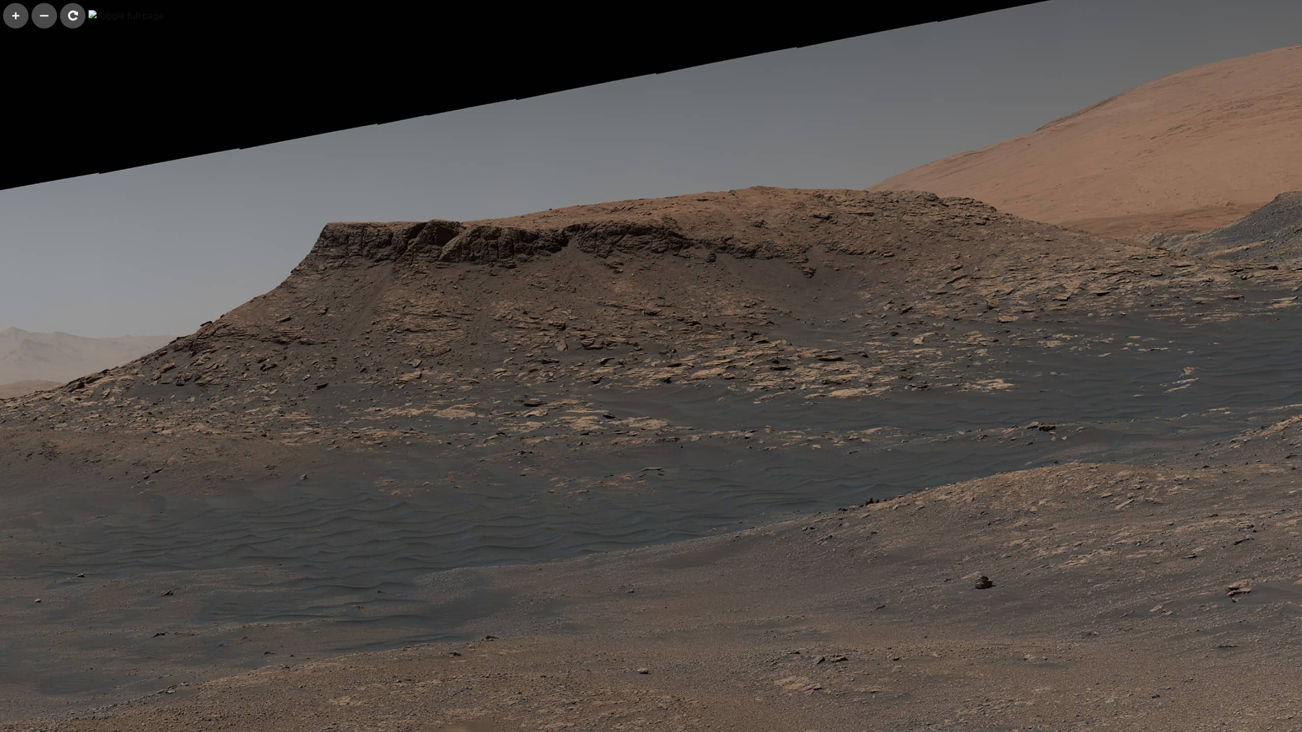 curiosity mastcam panorama 4