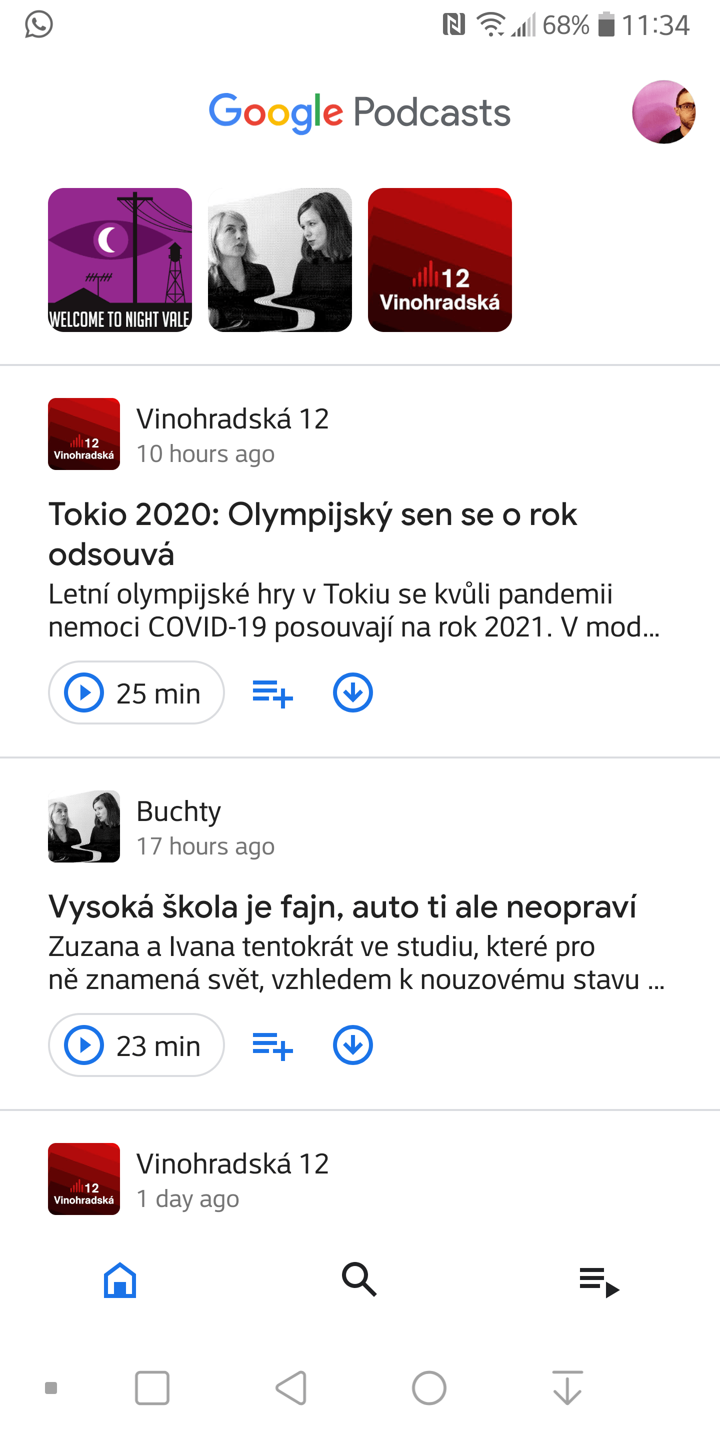google podcasts redesign 2020 3