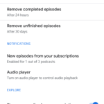 google podcasts redesign 2020 7