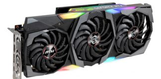 MSI GeForce RTX 2080 Ti 11GB Gaming Z Trio 1600