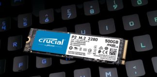 NVMe SSD Crucial P2 02 1600