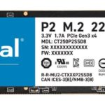 NVMe SSD Crucial P2 08