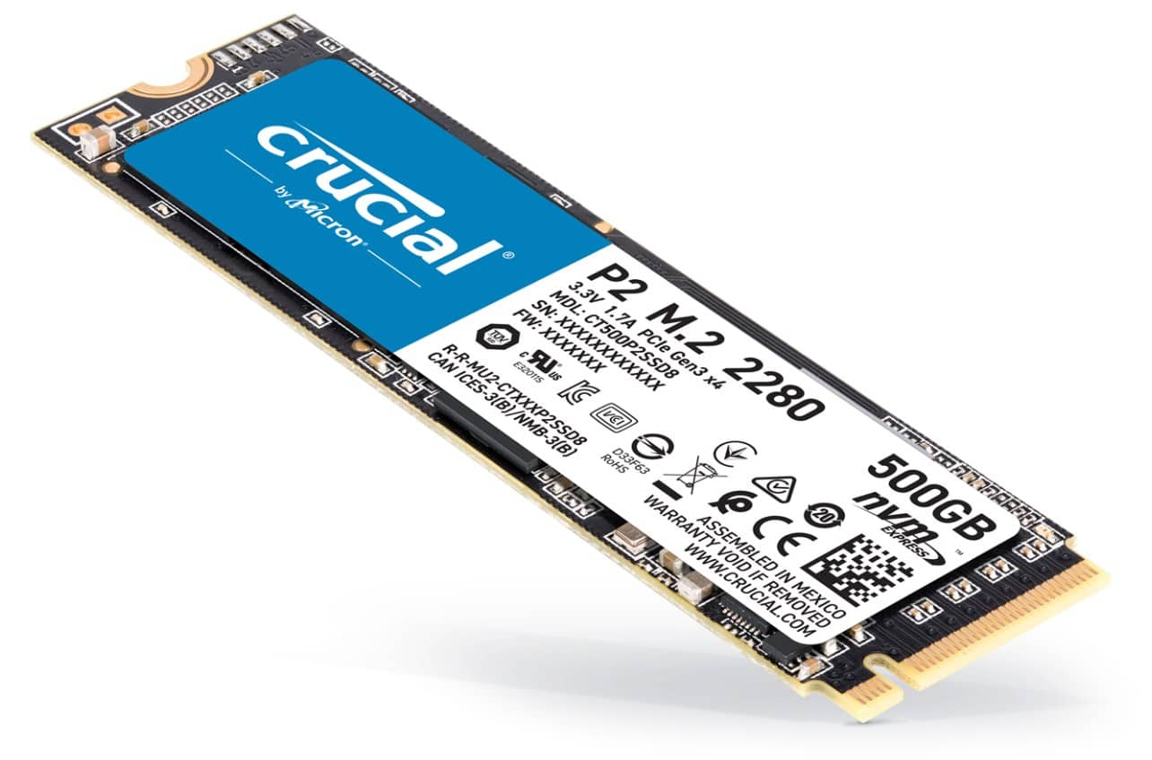 NVMe SSD Crucial P2 10