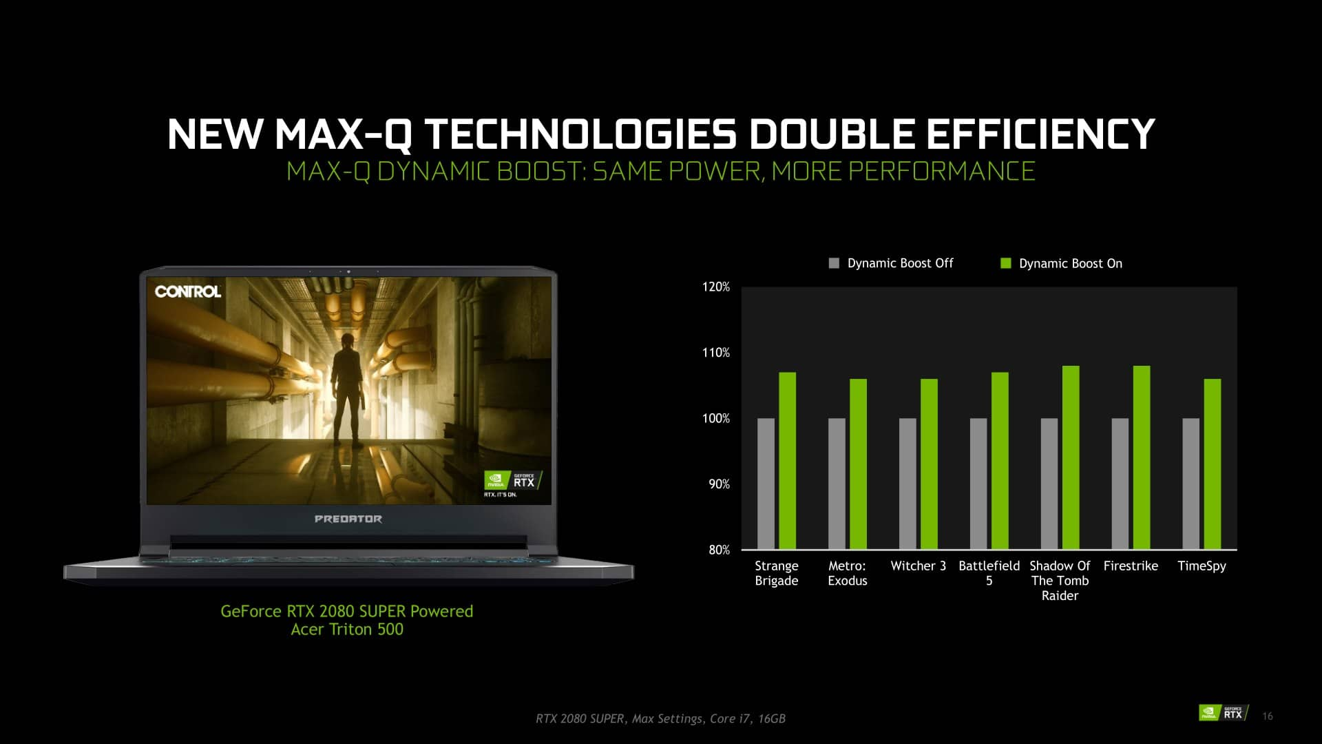 Nvidia Max Q 2020 notebooky s GeForce RTX prezentace 11