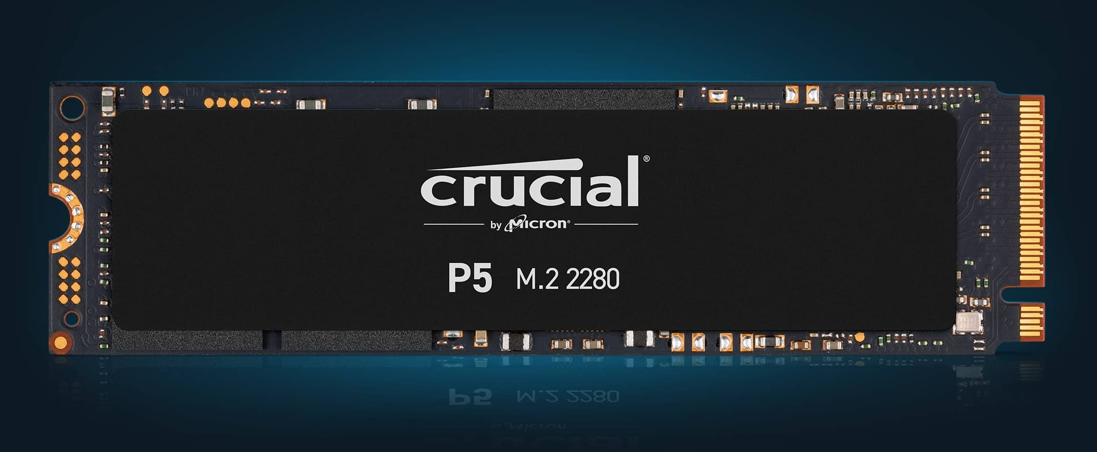 SSD Crucial P5 01